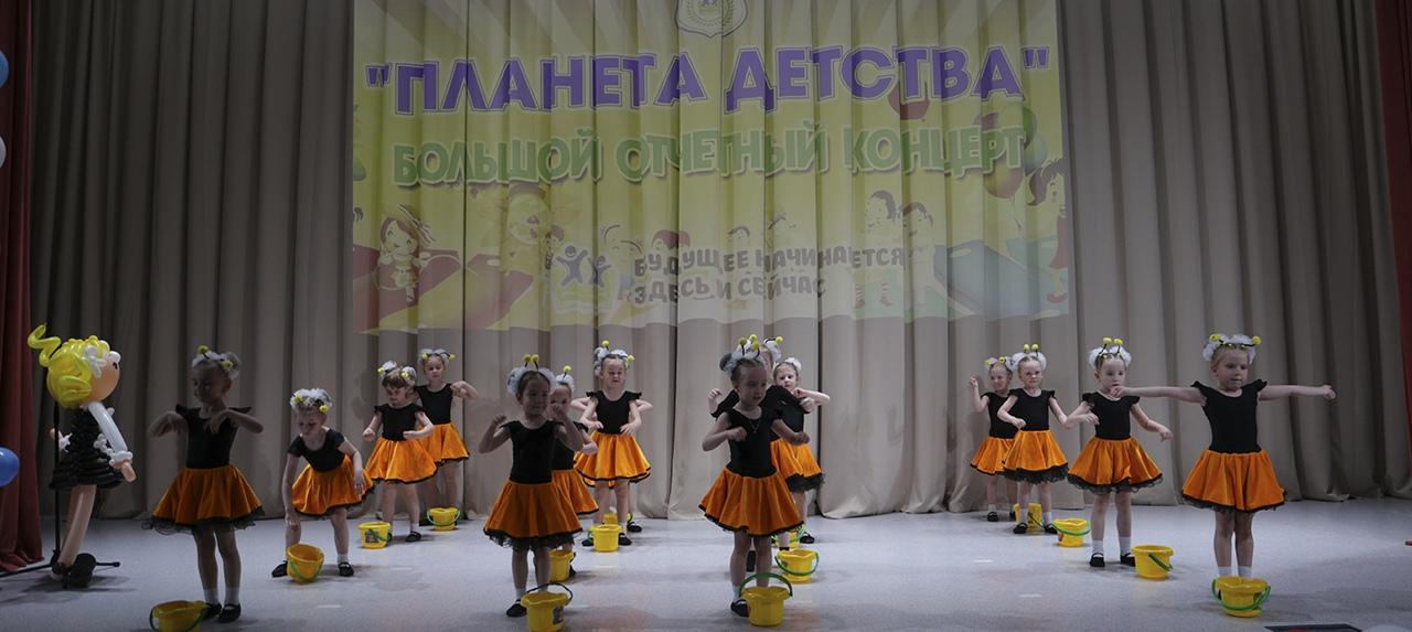 21 мая: отчетный концерт дошкольных отделений
